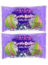 Brach's Purple Rain Tiny Jelly Bird Eggs! Jelly Beans 13 Oz Pack of 2! 4 Fruity  image 2