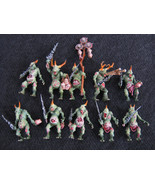 Warhammer  40K Plaguebearers of Nurgle PRO-PAINTED, 10 models, Chaos Fig... - $75.00