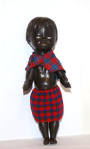 Vintage Collectible Doll -  hard plastic black ... - $49.00