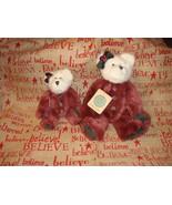 Boyds Bears Glynnis And Gwendolyn Plush Bears - $22.99