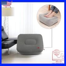 Inflatable Travel Footrest Rest Pillow Leg Foot cusion Portable Pad Kids... - €11,14 EUR