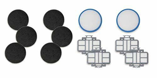 Fette Filter - Vacuum Filter Kit Compatible with Hoover React 440010868, 4400111