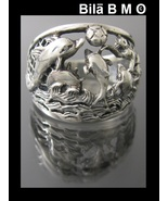Vintage STERLING SILVER DOLPHIN RING - Size 6 3/4 - $45.00