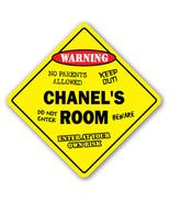 CHANEL'S ROOM SIGN kids bedroom decor door chil... - $8.44