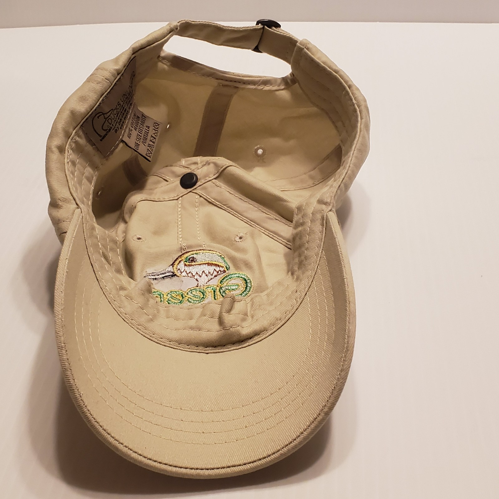 Green Wing Ducks Unlimited Adjustable Hat One Size Fits Most. Dorfman Pacific.   image 12