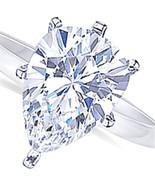 Pear cut 2 carat G VS1 diamond solitaire weddin... - $6,979.41