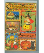 10 Victorian Reproduction Halloween Collage Blank Cards  - $10.50