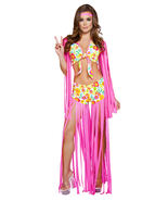 Sexy Roma Foxy Flower Child Hippie 60's Chick H... - $71.00 - $80.00