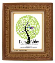 20X24 TREE 109 Wedding Signature Guest Book Tree, Wedding Guestbook post... - $57.20