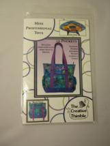 Mini Professional Tote Pattern  - $11.50