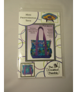 Mini Professional Tote Pattern  - $11.50
