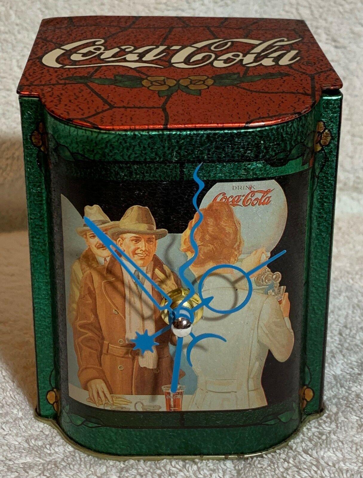 1981 coke music box quartz clock
