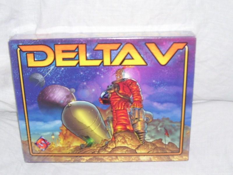Delta v board game