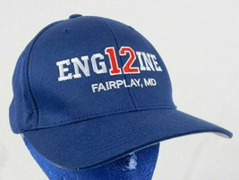 Engine 12 Fairplay Maryland Blue Baseball Cap Hat Flexfit S-M Box Shipped - $19.99