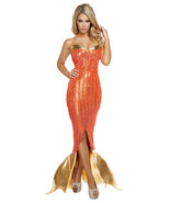 Sexy Roma Sultry Sea Siren Mermaid Adult Hallow... - $150.00