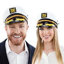 Sailor Captain Yacht Adjustable Snapback Cap Boat Halloween Costume Hat ... - $6.79+