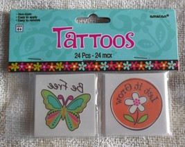 Hippie Chick Temporary Tattoos Assorted - $6.44