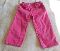 Osh Kosh Girl's Pink Pants Size 7 Adjustable Waist  - $9.89