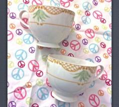 Mikasa Fine China Island Flair Tea Coffee Cup P... - $13.09