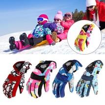 Children Ski Gloves Winter Snow Kids Waterproof Warm Girls Boys Sports S... - $6.99