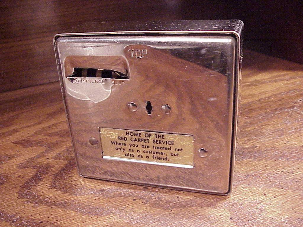 Metal Bank of Tacoma Calendar Bank, Washington, vintage