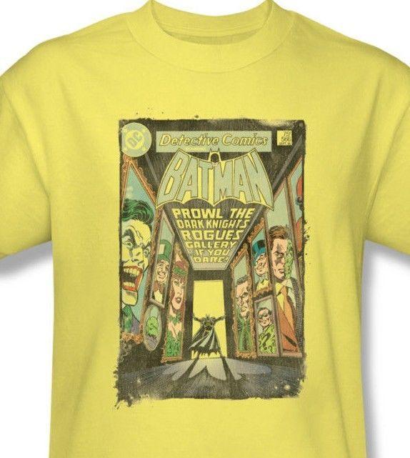 Batman Tee shirt Prowls Dark Knight comic book retro vintage DC Marvel BM2254