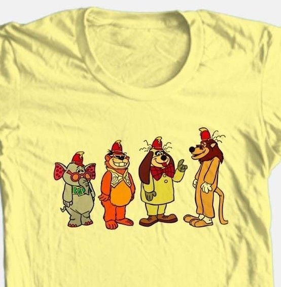 Banana Splits T shirt Saturday morning retro 1980's classic cartoon cotton tee