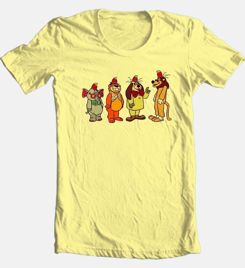 Banana Splits T shirt Saturday morning retro 1980's classic cartoon tv krofft