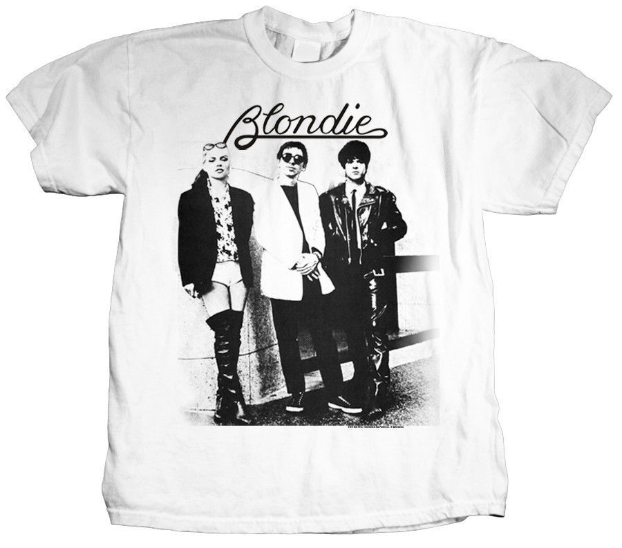 Blondie T-shirt 70's 80's New Wave Punk Rock & Roll CBGBs retro band graphic tee