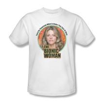Bionic Woman T-shirt retro 70's 80s TV graphic tee Six Million Dollar Man NBC539 - $19.99 - $25.99