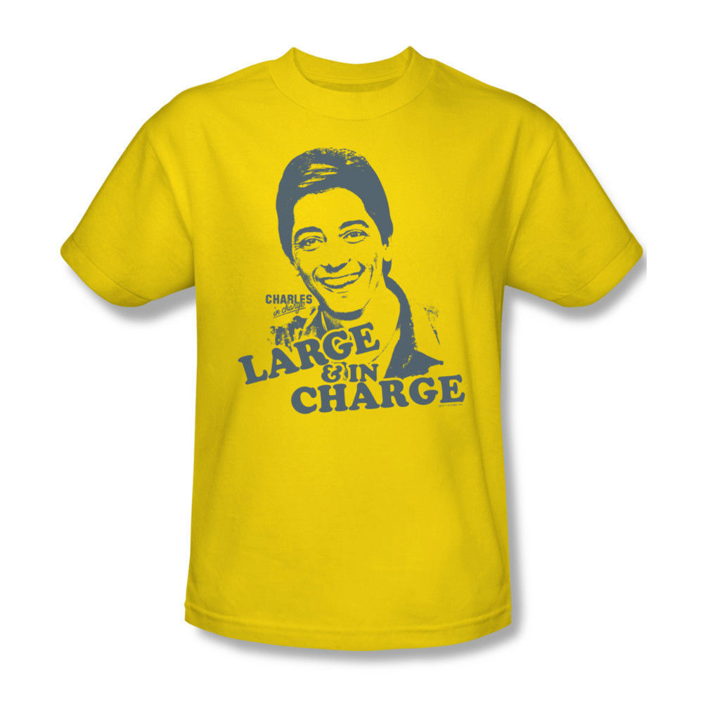 Charles In Charge T-shirt Scott Baio 80's 90's 100% cotton gold tee TV NBC231