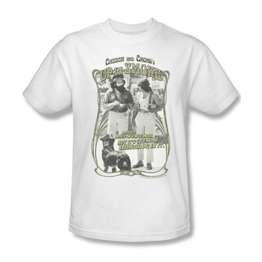 Cheech & Chong Up in Smoke tee shirt pot marijuana Nice Dreams cannibus PAR152