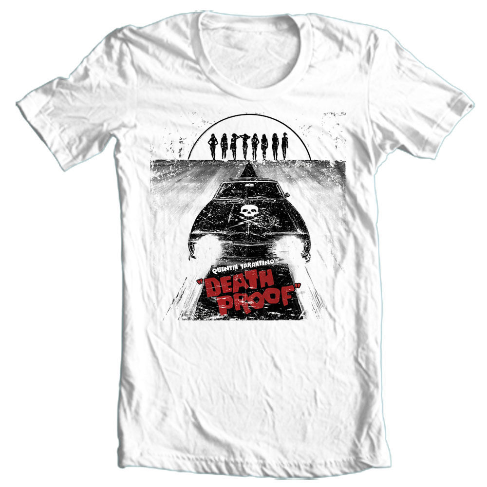 DEATH PROOF Horror T-shirt horror movie Grind House Planet Terror Tarantino