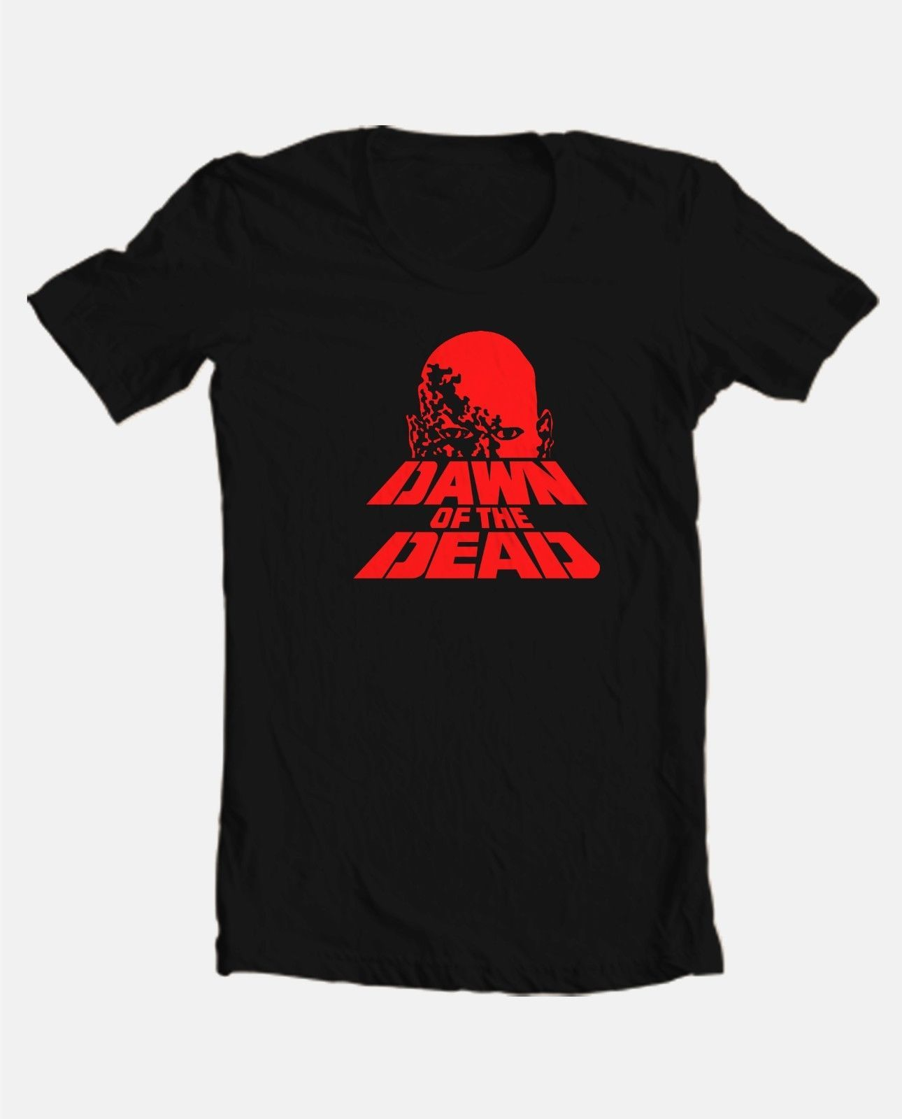 Dawn of Dead T shirt retro b-movie horror film zombie 70's 80's tee Evil Dead