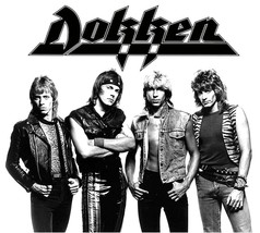 Dokken Breaking the Chains t shirt 80's heavy metal Motley Crue Def Leppard tee image 2
