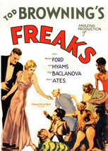 Freaks Movie T-shirt classic horror film retro 100% cotton graphic printed tee image 2