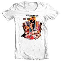 James Bond 007 T shirt Live Let Die retro vintage 70's film graphic cotton tee  - $19.99+