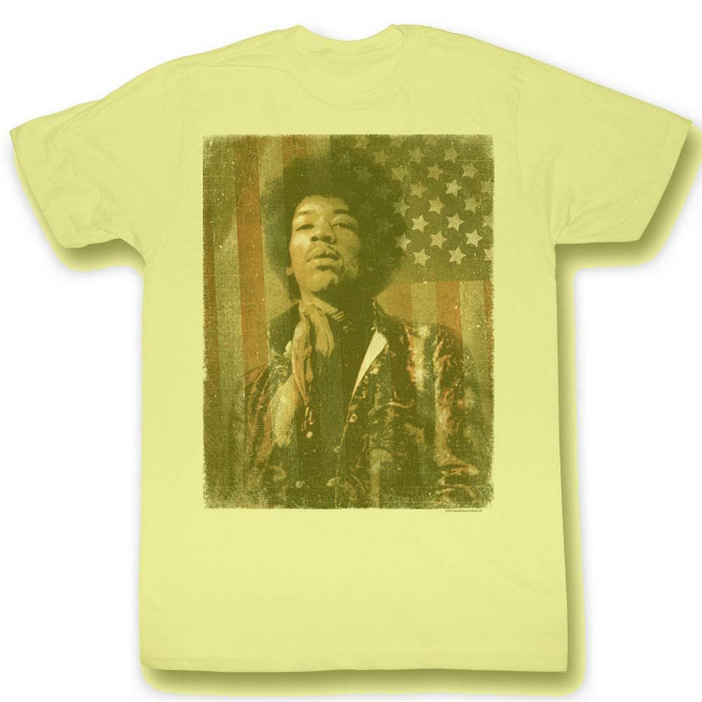 Jimi Hendrix Jimerica T-Shirt 60's Classic Rock and Roll Woodstock concert tee