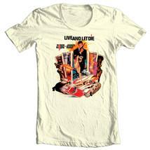 James Bond 007 T-shirt Live Let Die t shirt retro vintage 70's movie tee shirt image 1