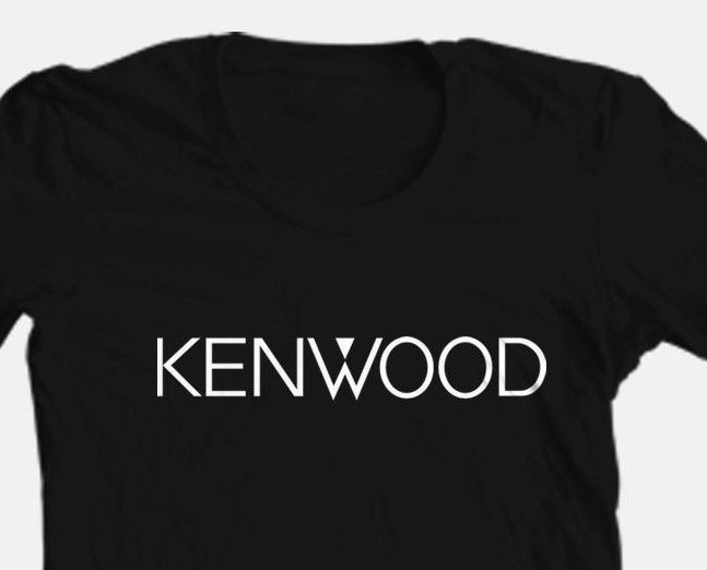 Kenwood T-shirt cool retro black car stereo speaker punk rockabilly graphic tee