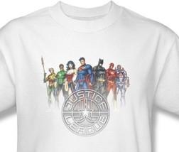 Justice League America T-shirt 100% cotton graphic tee superhero comics JLA369 - $19.99 - $25.99