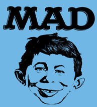 MAD T shirt magazine Alfred Newman retro 70's 80's cool funny cartoon tee shirt image 2