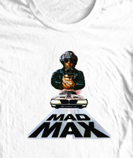 Mad Max Intereceptor T-shirt road warrior cool retro 80's action movie punk tee