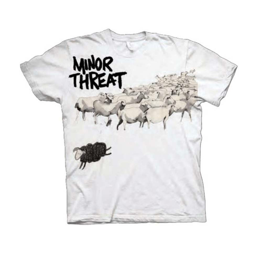 Minor Threat Out of Step T-Shirt Retro Hardcore Punk Rock Straight Edge