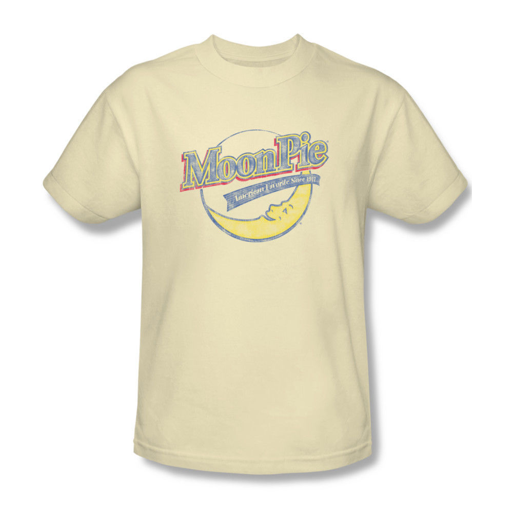Moon Pie T-shirt 80's retro candy vintage distressed graham cracker  MPI100