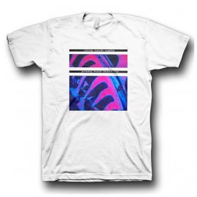 Nine Inch Nails T-shirt Pretty Hate Machine Simple 90\'s Alternative ...