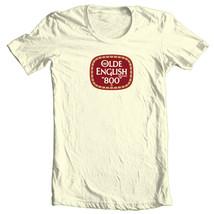 Olde English 800 T-shirt beer malt liquor cool retro Colt 45 cotton graphic tee image 1