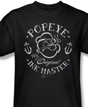 Popeye T shirt Ink comic cartoon tee Sailor Jerry Pin Up rockabilly punk pye710 image 1
