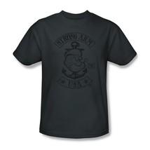 Popeye T-shirt USA navy comic cartoon tattoo cotton retro 80's tee Pin Up pye725 image 2