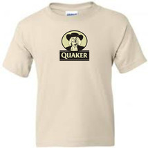 Quaker Oats T shirt retro vintage 80's brands 100% cotton graphic men's tee image 1